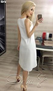 Фото  Платье летнее асимметричное