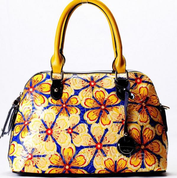 Женская сумочка Velina Fabbiano VF69090-17 желтая