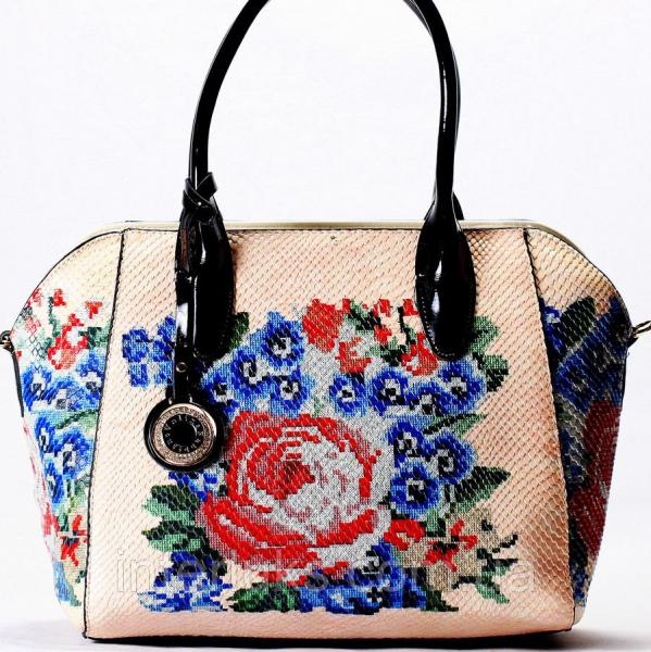 Женская сумочка Velina Fabbiano VF69368 персиковая