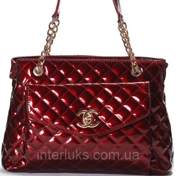 Женская сумка 5099 бордовый