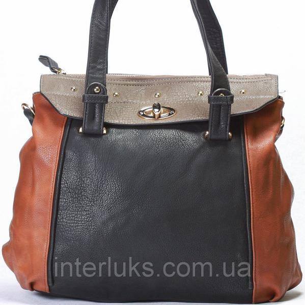 Женская сумка Giorgio Ferrilli J12513 черная