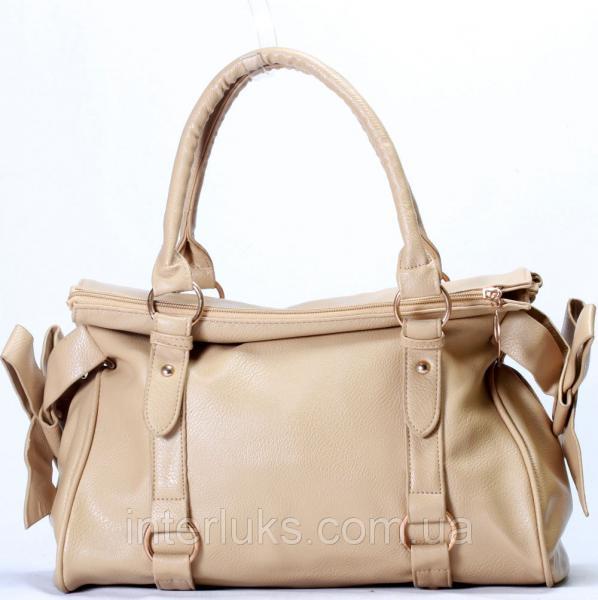 Женская сумка 9249778 бежевая