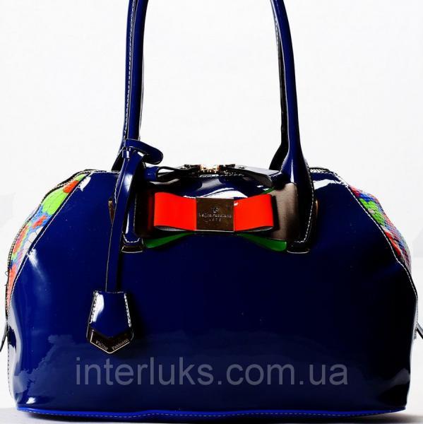 Женская сумочка Velina Fabbiano VF37148 синяя