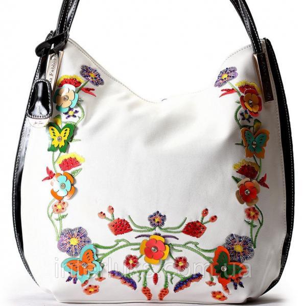 Женская сумочка Velina Fabbiano VF57170-C белая