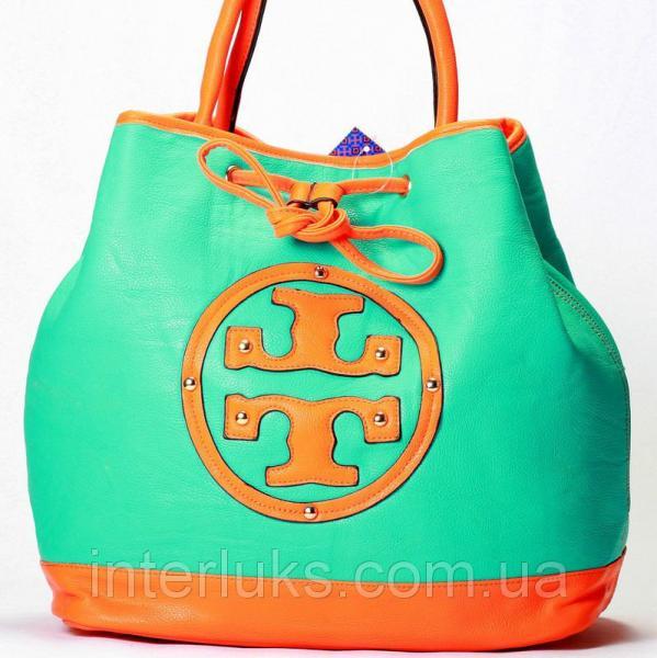 Женская сумка 8048 циановая распродажа