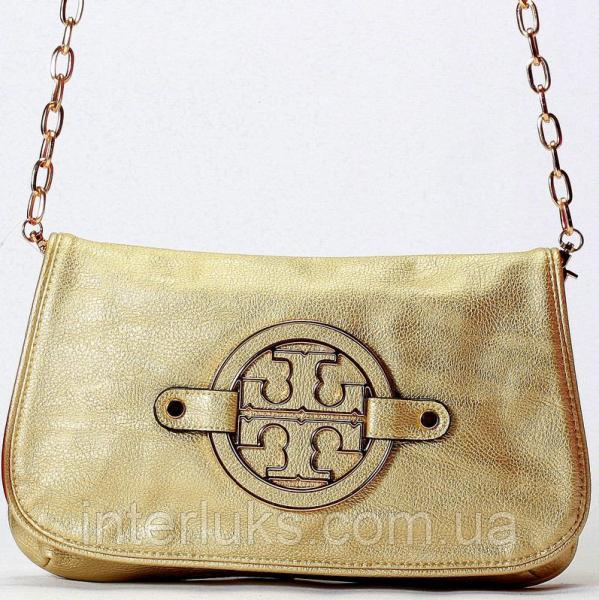 Женская сумка 05 золотая