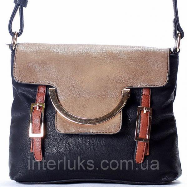 Женская сумка Giorgio Ferrilli J13359 черная-2