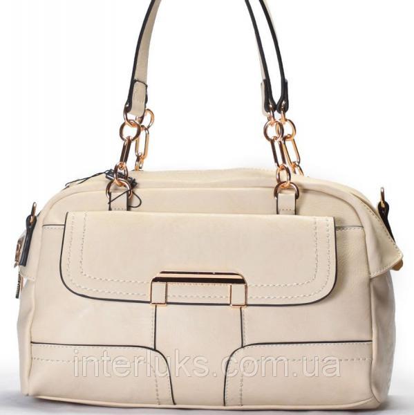 Женская сумка Gilda Tohetti BG0001 бежевая