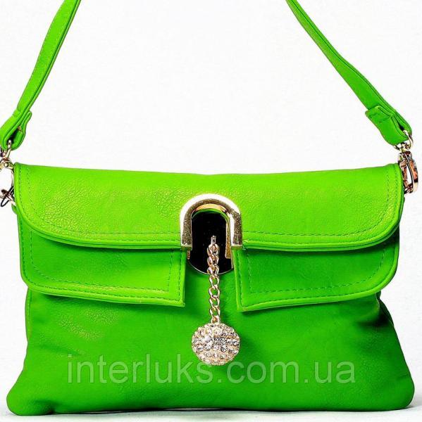 Женская сумка Gilda Tohetti J8838 зеленая