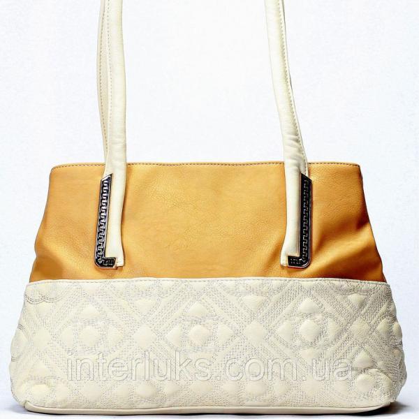Женская сумка Giorgio Ferrilli J13300 бежевая