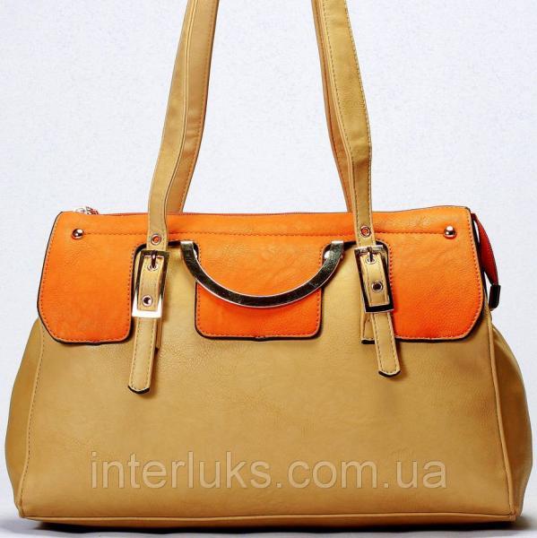 Женская сумка Giorgio Ferrilli J13294 распродажа кофейная