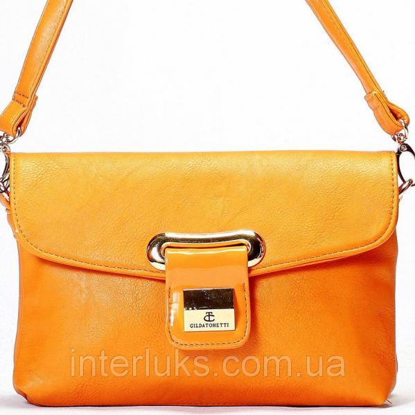 Женская сумка Gilda Tohetti J9029-50 светло-коричневая