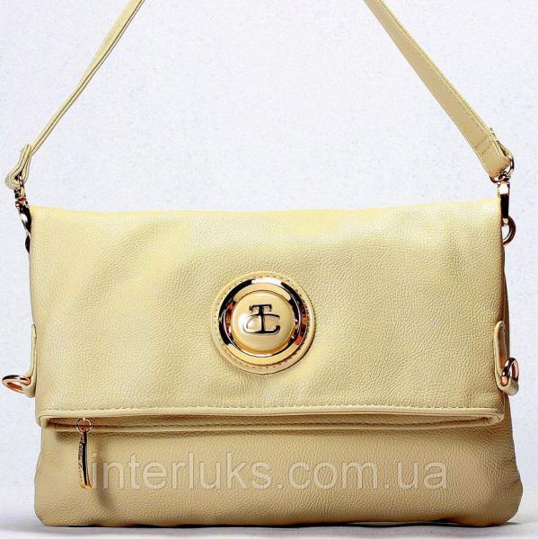 Женская сумка Gilda Tohetti J59190 распродажа бежевая