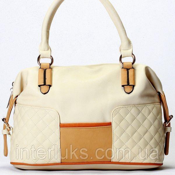 Женская сумка Giorgio Ferrilli J13475 бежевая