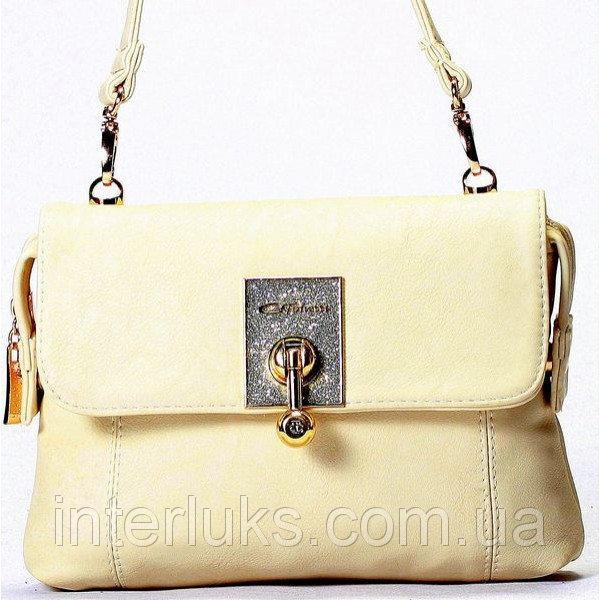 Женская сумка Gilda Tohetti J59200 бежевая