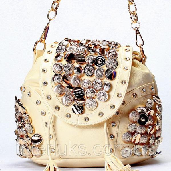 Женская сумка Brand Style R1517 бежевая