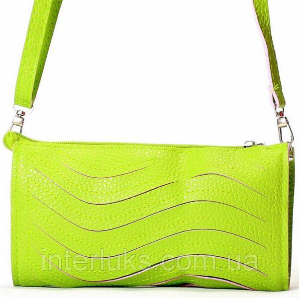 Женская сумка 028 зеленая 2