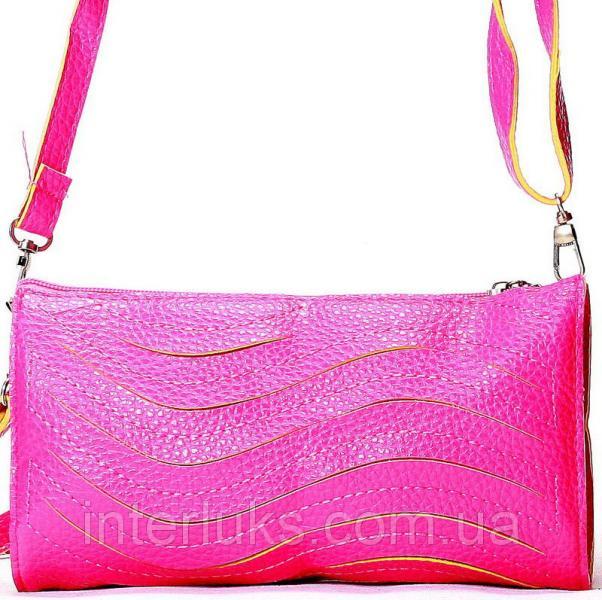 Женская сумка 028 розовая
