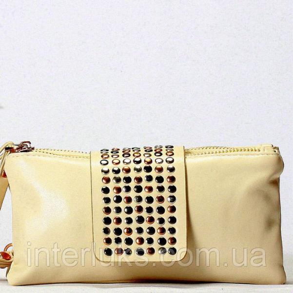 Женская сумка 2702 бежевая