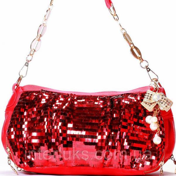 Женская сумка 55018 красная