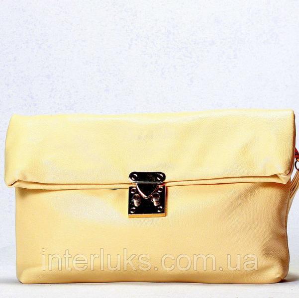 Женская сумка 55020 бежевая