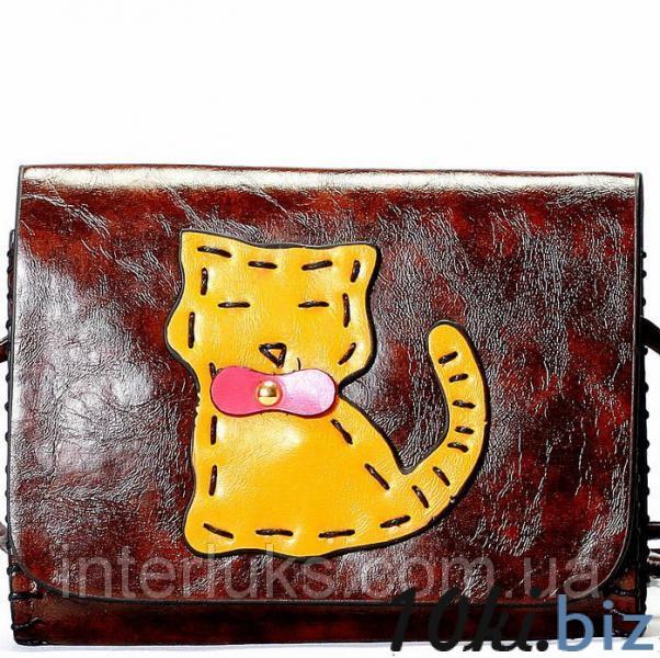 Женская сумка 026 коричневая - Женские сумочки и клатчи в магазине Одессы