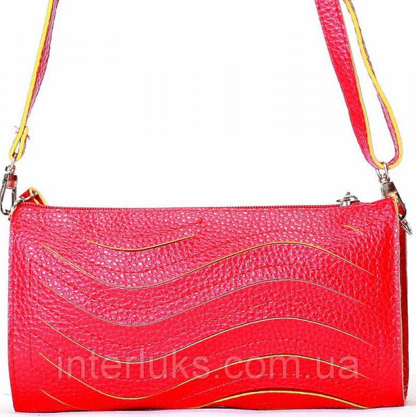 Женская сумка 028 красная