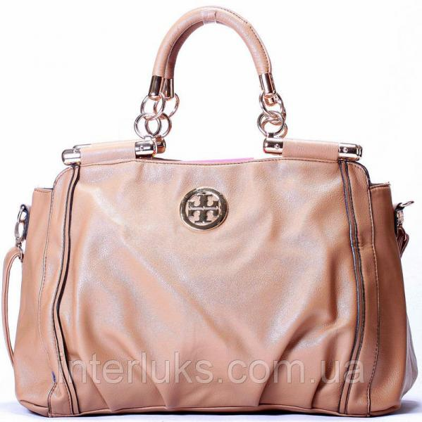 Женская сумка 8070 бежевая