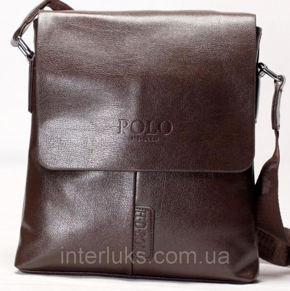 Мужская сумка 1606-2 коричневая