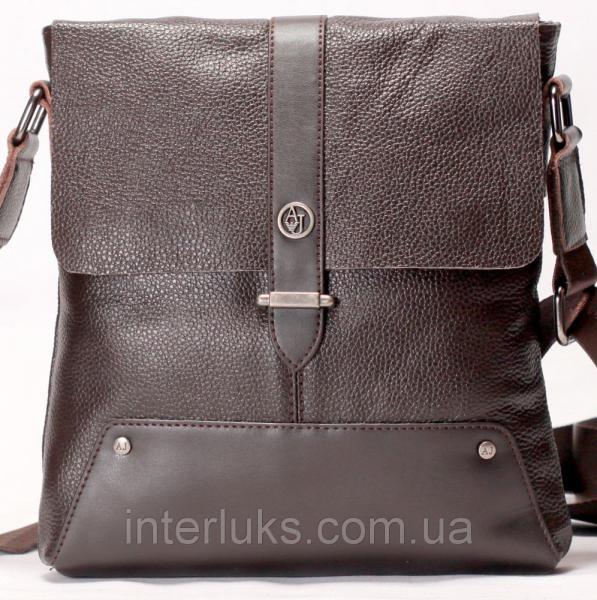 Мужская сумка ar18-1 коричневая