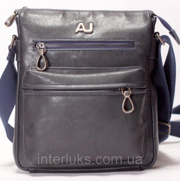 Мужская сумка 33676-1 синяя