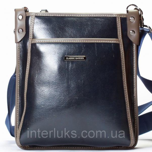 Мужская сумка Classiс Garden CG8653-2 распродажа синяя