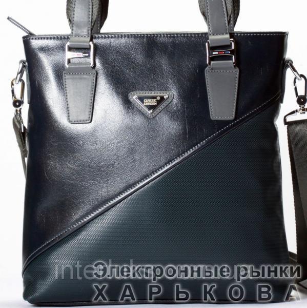 0dbfc14b0507 Мужской портфель Classiс Garden CG9154-3 распродажа синий - Мужские сумки и  барсетки на рынке Барабашова