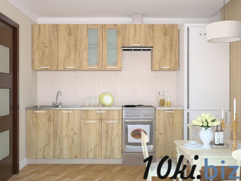 Кухня Мила 1.4 дуб золотой купить в Беларуси - Мебель для кухни