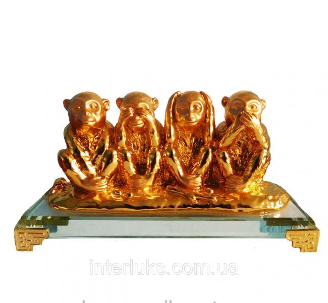 Статуэтка Мудрые обезьяны