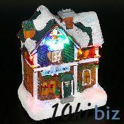 Избушка Цветочный магазин со светодиодом 13,50х10,00 h=20,50 см - Ключницы, ящики для ключей в магазине Одессы