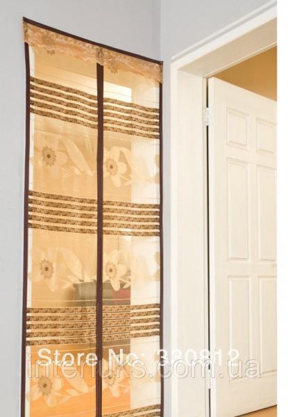 Магнитные шторы с рисунком printed mesh door curtain