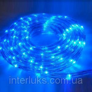 Гирлянда светящийся шланг 10M синий диод