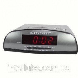 Часы настольные Будильник (говорящие) KK-9905 AM-FM