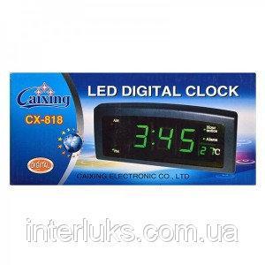 Часы настольные электронные Caixing CX 818