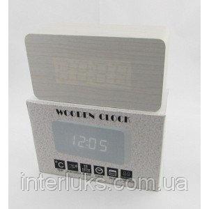 Настольные электронные часы c будильником DW-1295 LED-Red