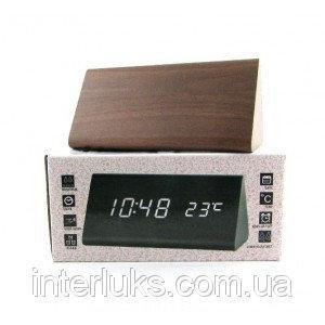 Настольные электронные часы c будильником DW-1301 LED-Red