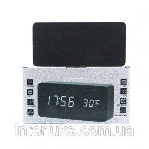 Настольные электронные часы c будильником DW-1299 LED-Blue