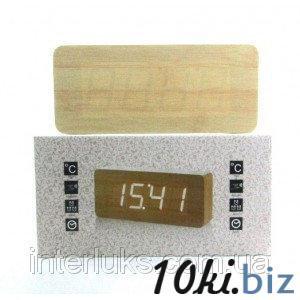 Настольные электронные часы c будильником DW-1292 LED-Blue - Часы настольные в магазине Одессы
