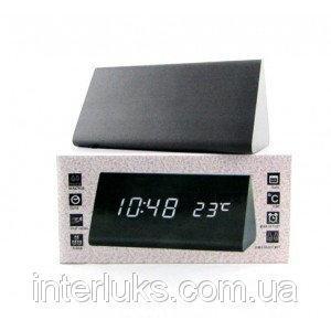 Настольные электронные часы c будильником DW-1301 LED-Green