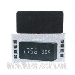 Настольные электронные часы c будильником DW-1292 LED-Red