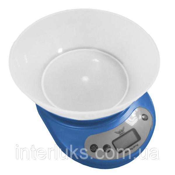 Весы кухонные DEFIANT DKS-502B BLUE