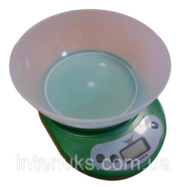 Весы кухонные DEFIANT DKS-502B GREEN