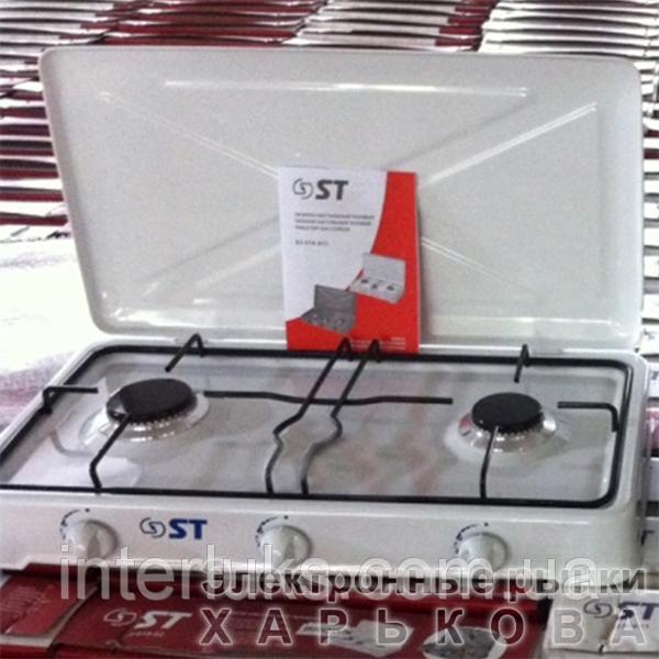 Таганок газовый настольный ST 63-010-02 BIG WHITE - Кухонные плиты на рынке Барабашова