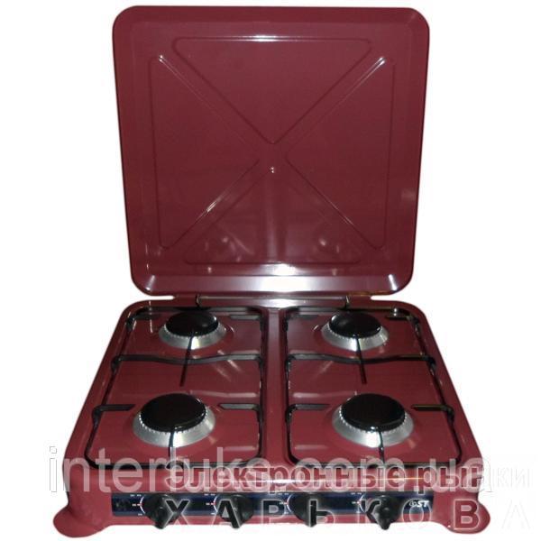 Таганок газовый настольный ST 63-010-04 PAINT ВROWN - Кухонные плиты на рынке Барабашова